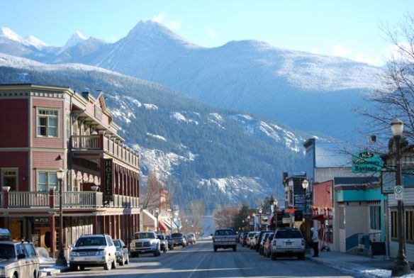 Kaslo, British Columbia, the Kaslo Institute's home base