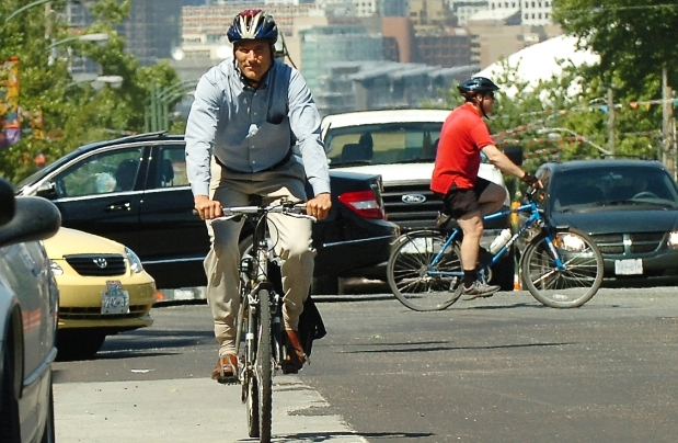 We could offer folks like this Vancouver tech worker a far less hectic -- and more scenic -- commute!