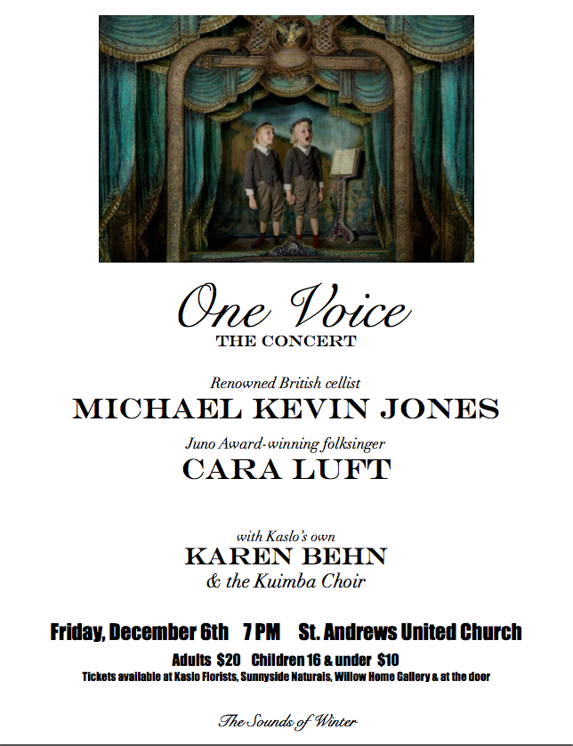 One Voice Final Poster