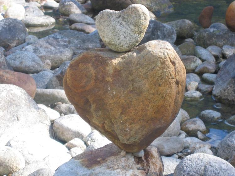 Heartstone inukshuk