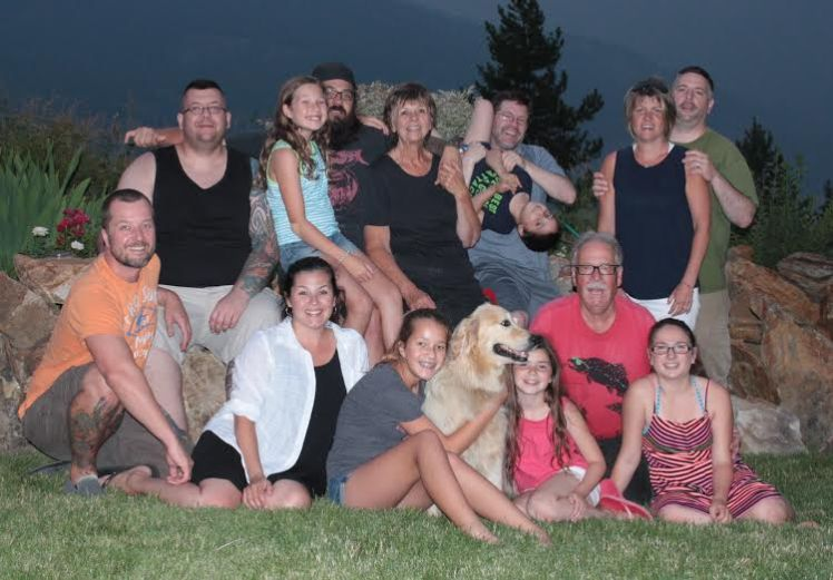 Family Photo Aug 2014