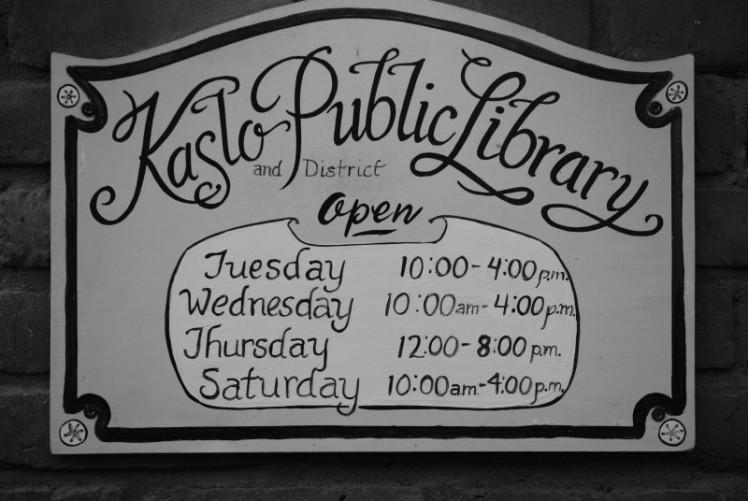 #8 Kaslo Library