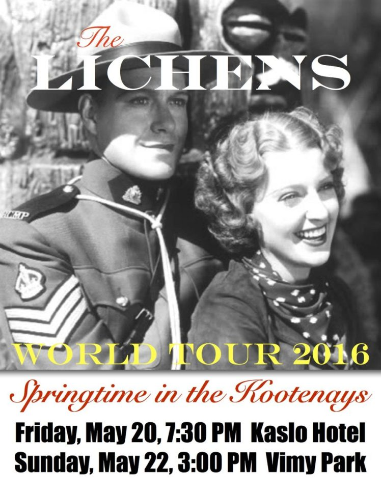 Lichens May Days Poster
